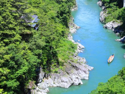 長野 天龍峡温泉 渓谷に佇む隠れ宿 峡泉(募集終了)