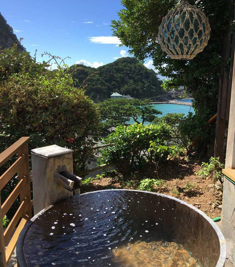 静岡|雲見温泉 かわいいお宿 雲見園